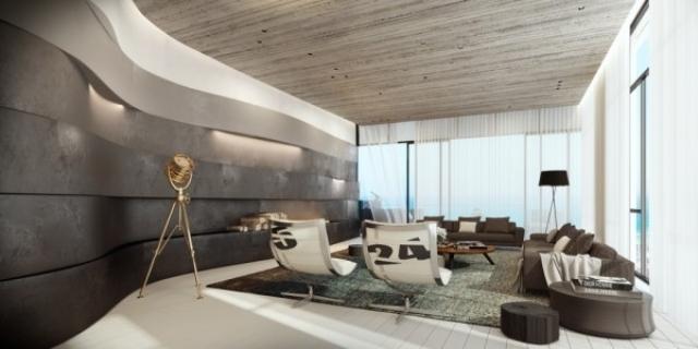 Farbgestaltung Wohnzimmer Grau Wei Ubergange Moderne Mobel Kaminofen
