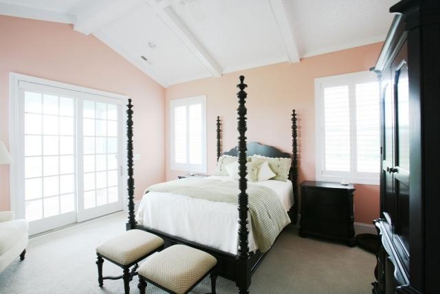 wandfarbe im schlafzimmer erholsam schlafen | möbelideen, Schlafzimmer entwurf
