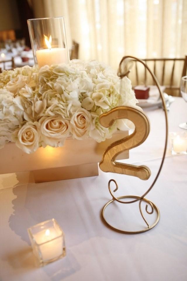 Tischdeko fr Hochzeit  85 Ideen mit Blumen und viel Grn