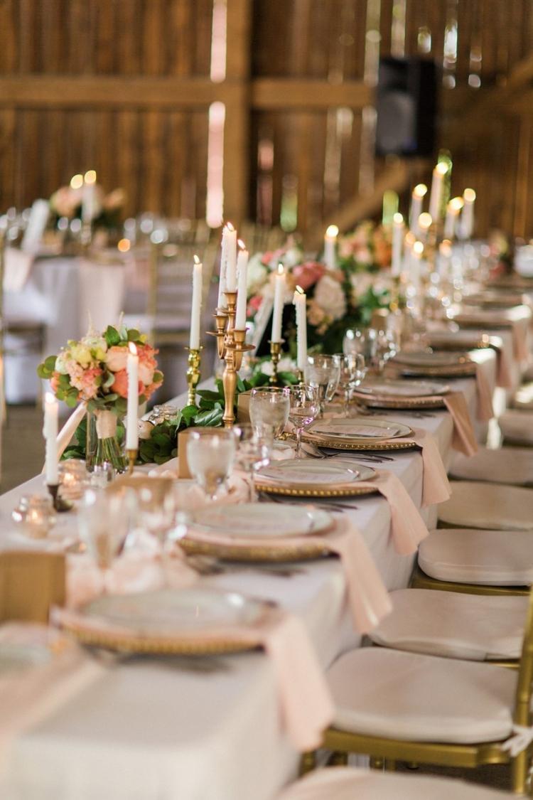 25 Ideen fr die Hochzeit Tischdeko Ihrer Trume