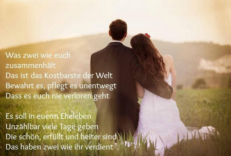 Wunsche An Das Brautpaar Hochzeit Frisch Verheiratet Stck