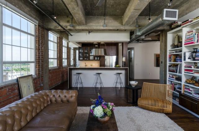 Wohnungseinrichtung Ideen fr Rume mit hohen Decken