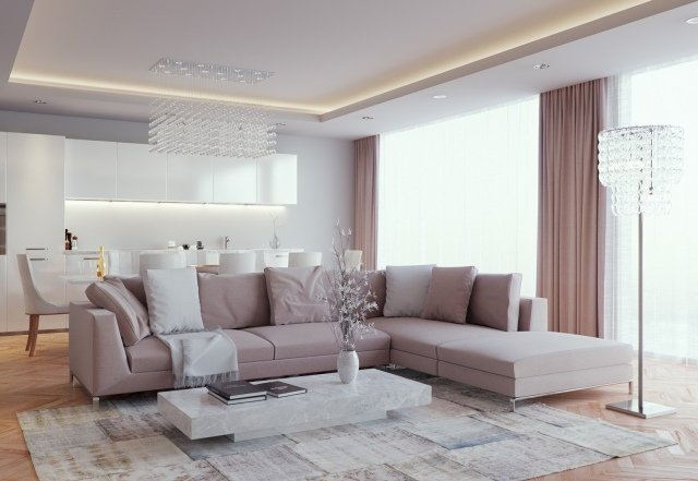 Wohnküche Streichen Ideen | Mabsolut.com Wohnzimmer Ideen Taupe