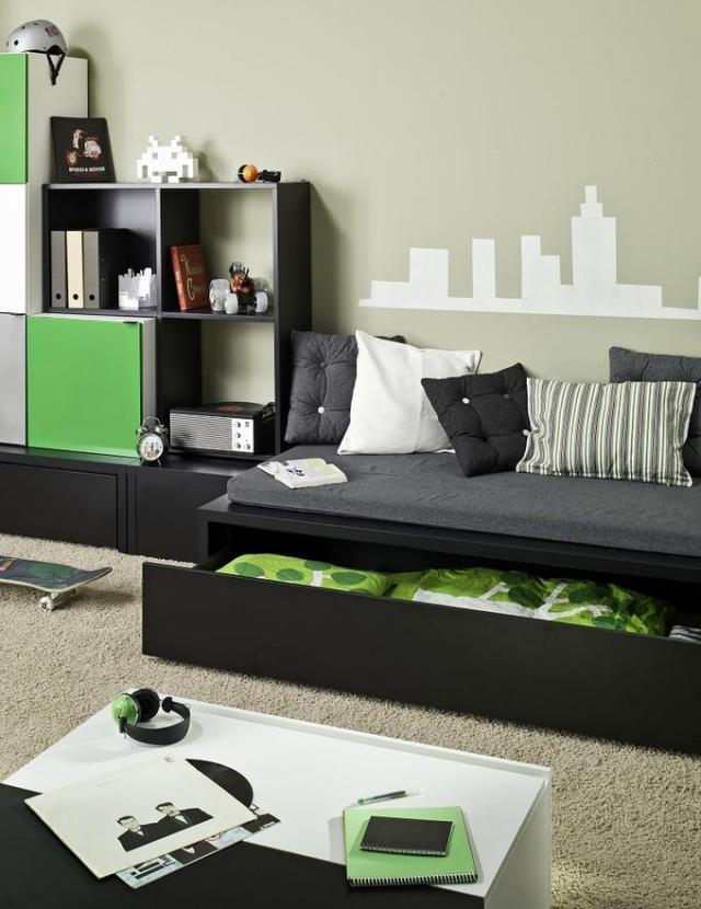 best jugendzimmer einrichten interieurlosungen teenager. Black Bedroom Furniture Sets. Home Design Ideas