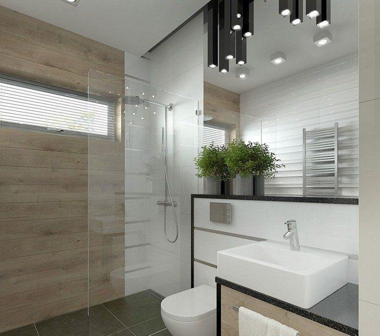 Kleines Bad einrichten  51 Ideen fr Gestaltung mit Dusche