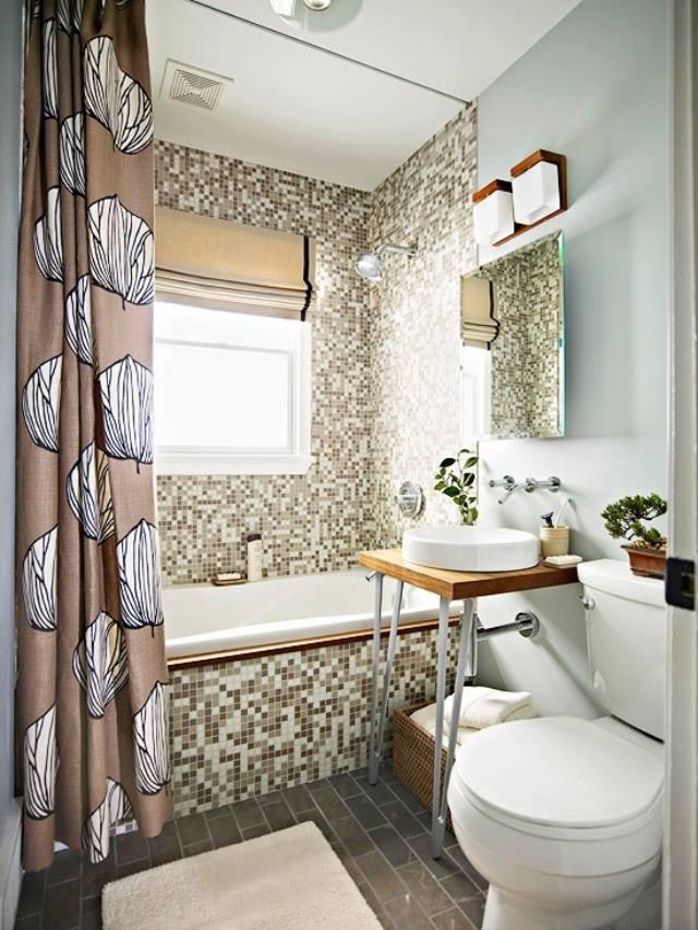 Moderne Badezimmergestaltung  30 Ideen fr kleine Bder