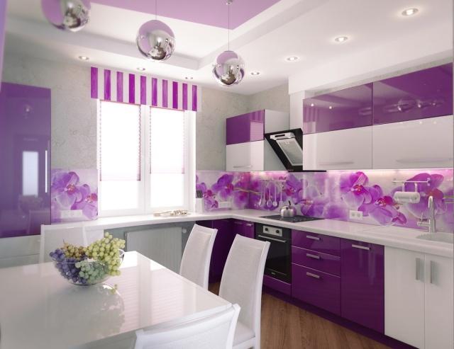 glas spritzschutz k che leuchtende glaswand in der k che spritzschutz mit bedrucktem glas m s. Black Bedroom Furniture Sets. Home Design Ideas