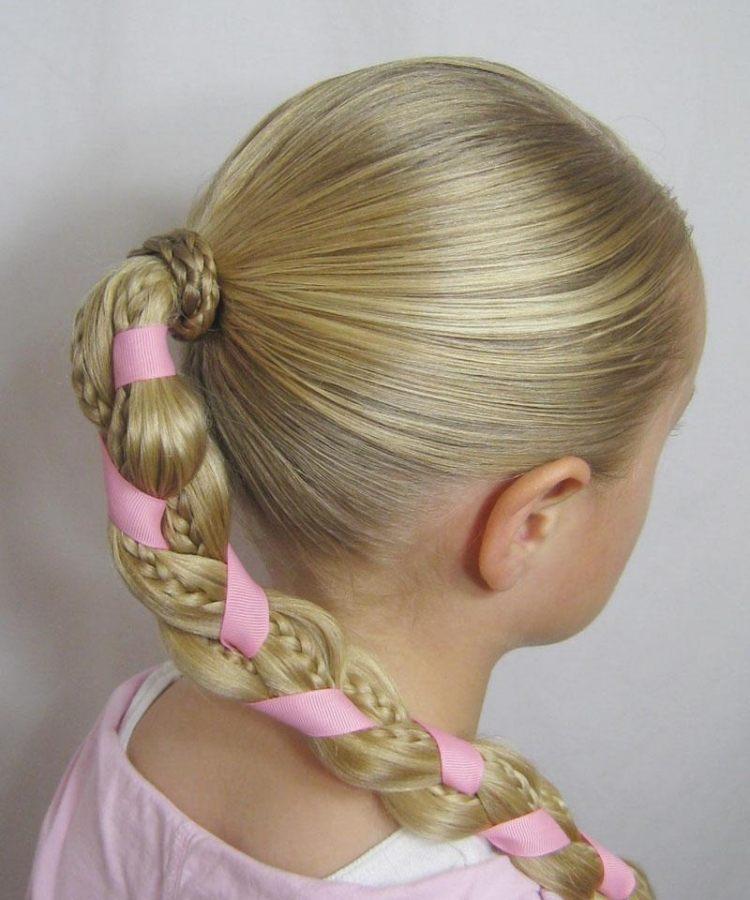 55 Kreative Mdchen Frisuren  Hair Styling der kleine Dame