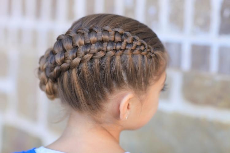 55 Kreative Mädchen Frisuren Hair Styling Der Kleine Dame