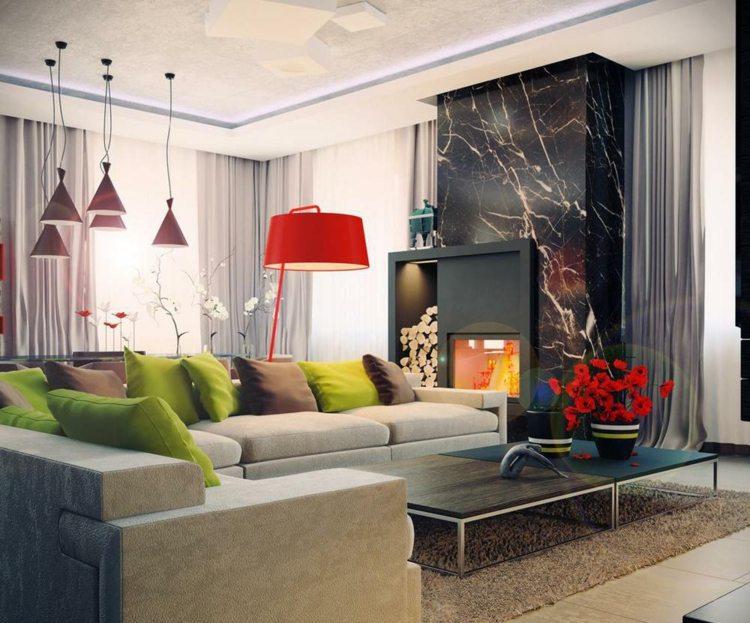 Wohnzimmer Wohnraeume Einrichtung Wohnzimmer Gestaltung Dekoration ... Moderne Eingerichtete Wohnzimmer