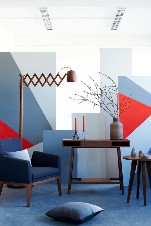 Wandgestaltung mit Farbe  35 Nuancen von Blau