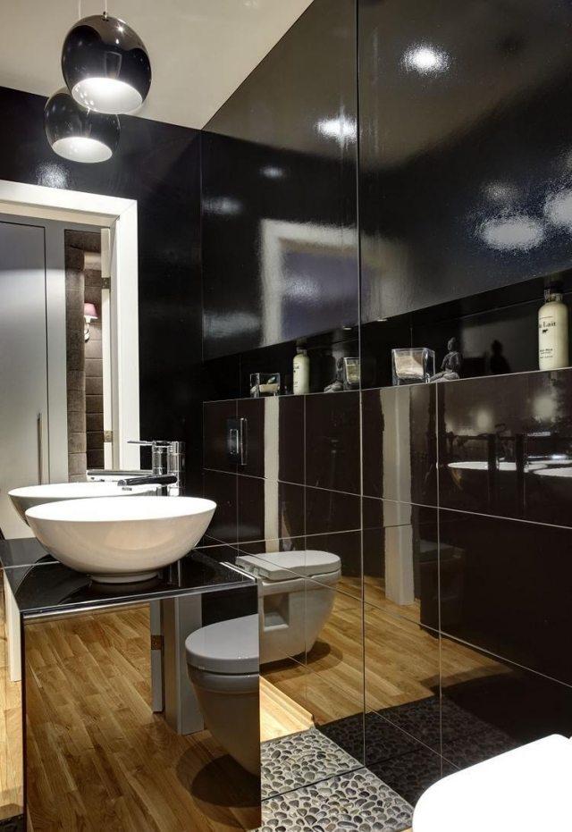 badezimmer fliesen streichen  kreative wandgestaltung