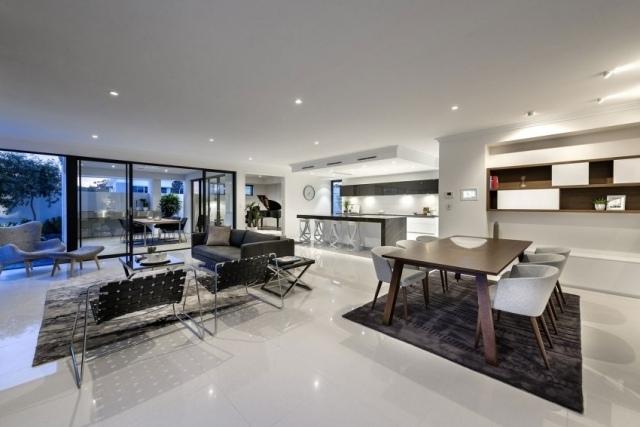 design moderne wohnzimmer design wohnzimmer design das versunkene, Wohnzimmer