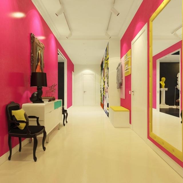 farbgestaltung im flur eingangsbereich m belideen. Black Bedroom Furniture Sets. Home Design Ideas