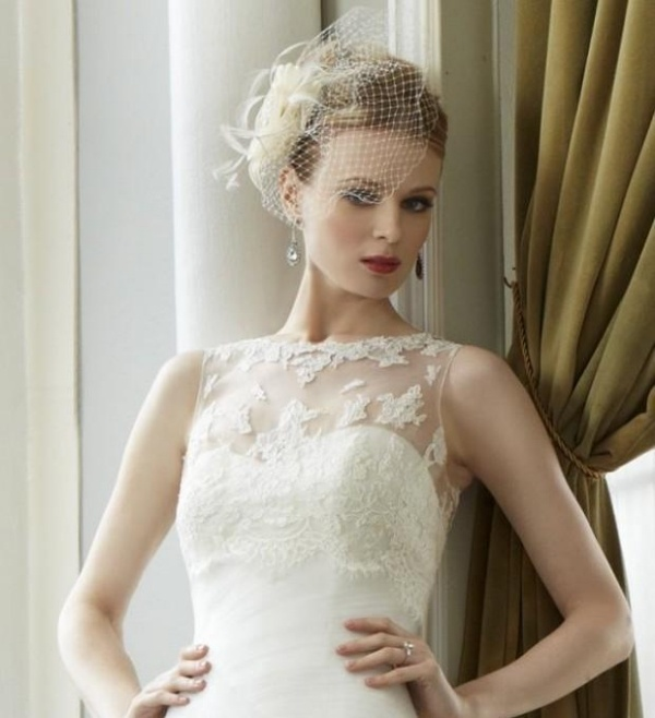 20 hochgesteckte Brautfrisuren  schicke Haarschmuck Ideen