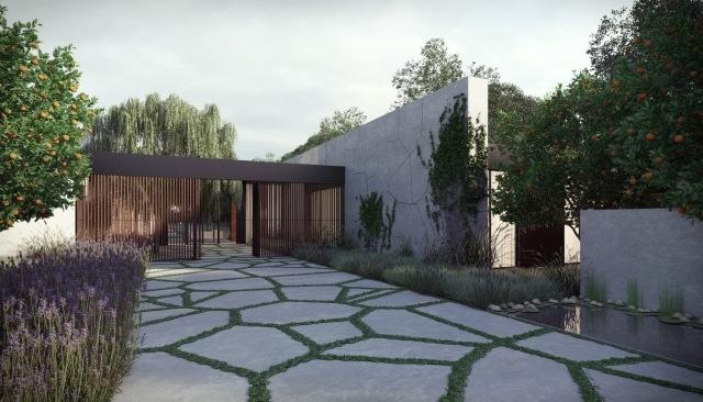 46 Beispiele fr moderne Hof und Gartengestaltung