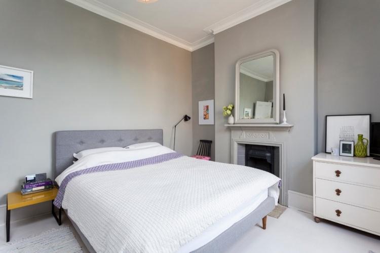 Schlafzimmer skandinavischer stil  Modernes Schlafzimmer Skandinavischer Stil Kleine Wohnung | Designmore