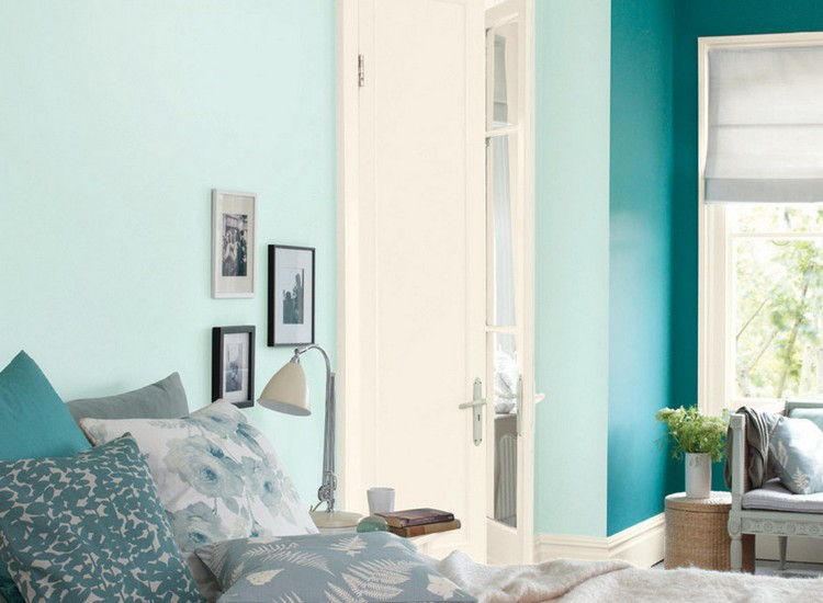 Wandfarbe im Schlafzimmer fr einen erholsamen Schlaf