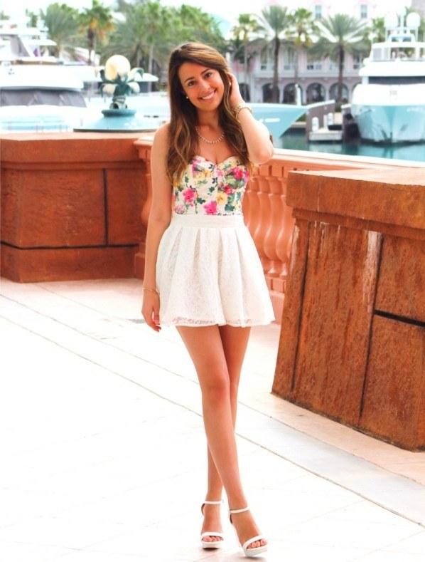 20 peppige Rock Outfits fr einen stilvollen Sommer