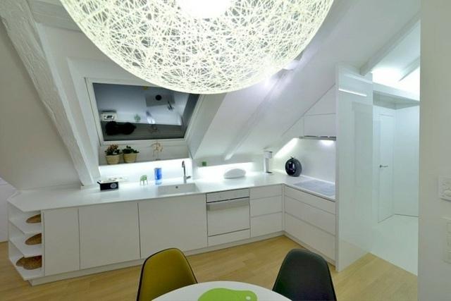 Wohnung einrichten  Wohnideen fr Zimmer mit Dachschrge