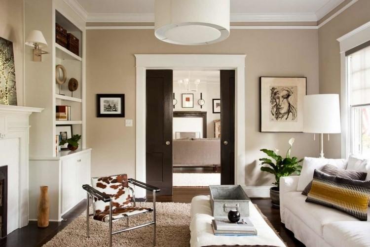 einrichtungsideen wohnzimmer beige | haus design ideen, Wohnzimmer