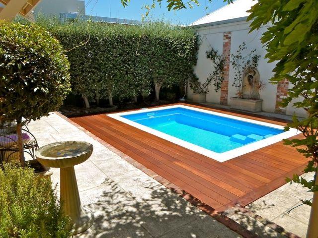 gartengestaltung pflege pooldesign poolumrandung holz wpc | designmore, Terrassen deko