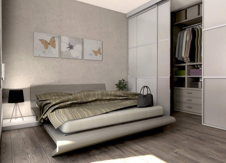 Begehbarer Kleiderschrank fr kleines Zimmer Ideen  Tipps