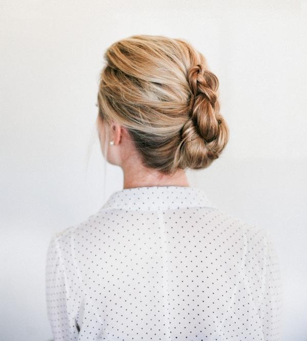 Hair Ideas Zeitschrift: French Twist Frisur Anleitung
