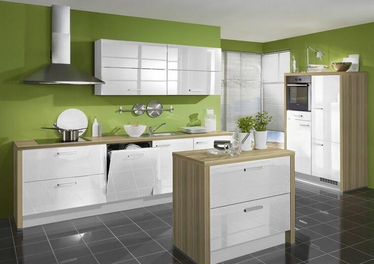 Küchen Wandfarben Ideen | Küche Wandfarbe Auswählen: Tolle ...