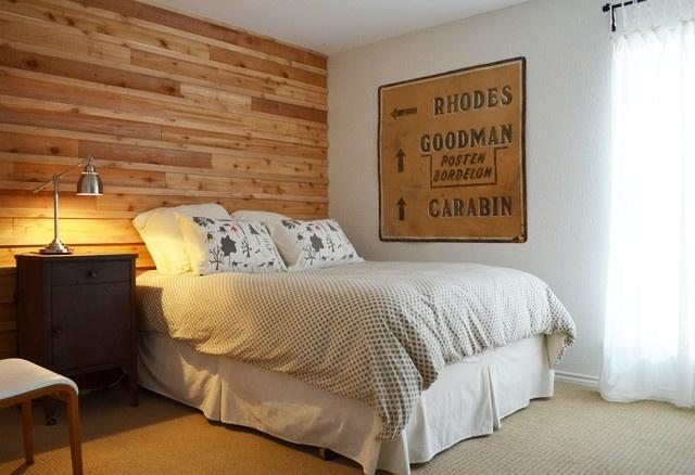 inspiration zur einrichtung schlafzimmer holzwand | möbelideen - Inspiration Zur Einrichtung Schlafzimmer Holzwand