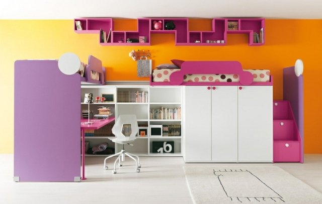 Bunte Kinderzimmermobel Ideen - Design