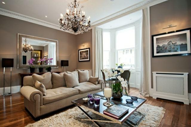 Schne Wohnzimmer Ideen im englischen Wohnstil