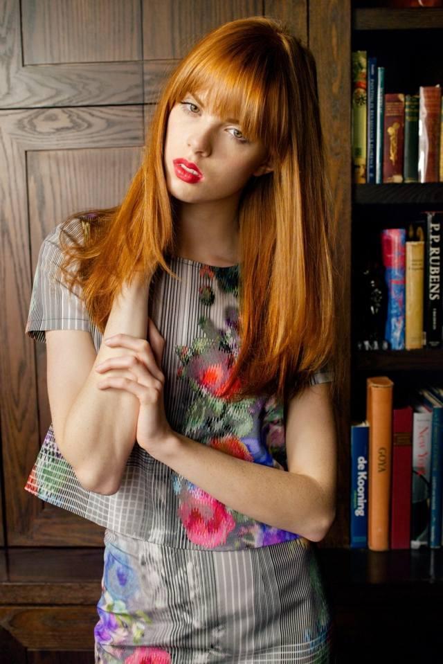 Herbst Frisuren 2014 die beliebtesten Trends und Haarfarben