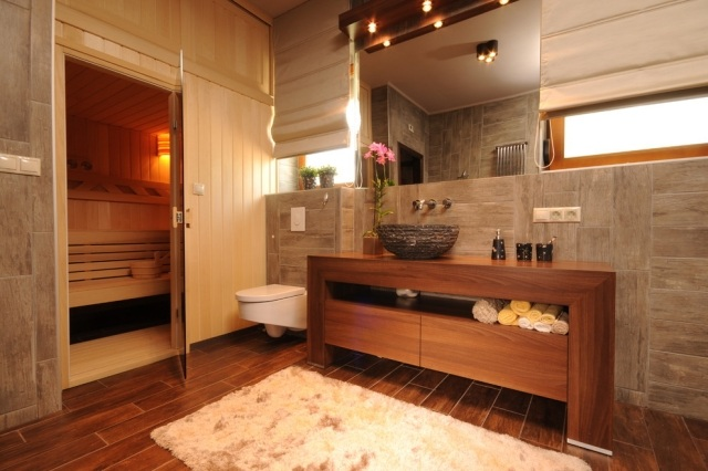 Bad mit Sauna planen  Was muss man beachten