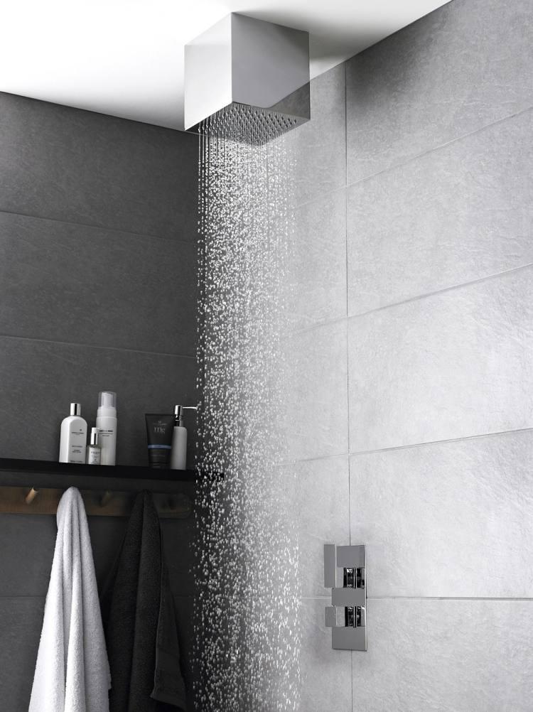 Dusche Ideen  das Bad mit Regendusche nachrsten