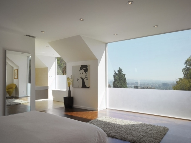 Kleines Schlafzimmer Fensterfront Schlafzimmer Fenster Gut On ...