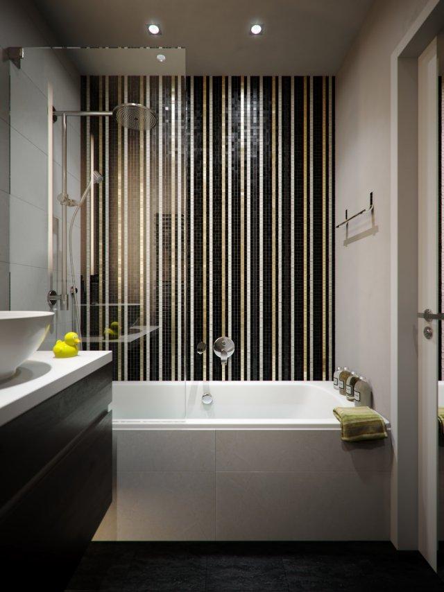 Kleine Bder Mit Badewanne Und Dusche Einrichten 32 Ideen