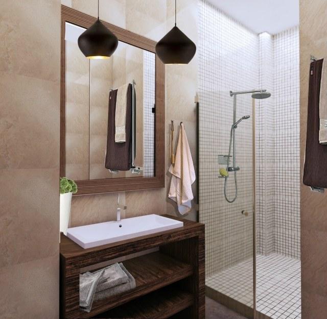 Pastelltöne Wand | 30 Wohnideen Für Badezimmer - Bad Ohne ...