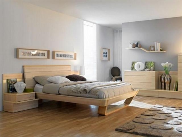 Kontrast Im Schlafzimmer Dekorationsideen - Boisholz
