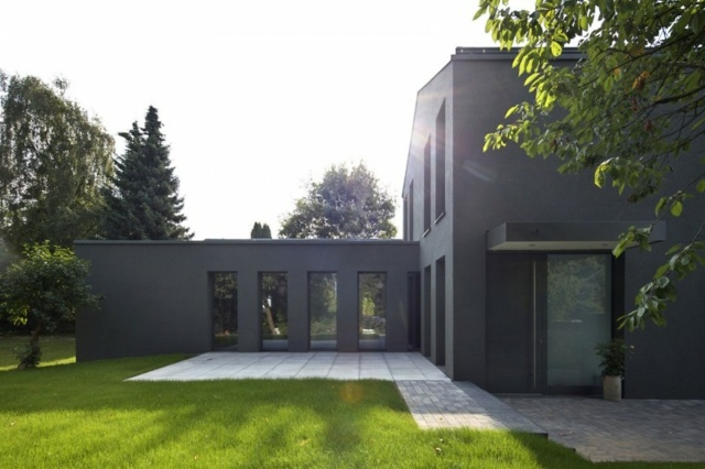 Haus Umbau  Gebude aus den 70ern in neuem Look