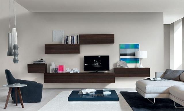 Moderne Wohnwnde passen zum stdtischen Lifestyle