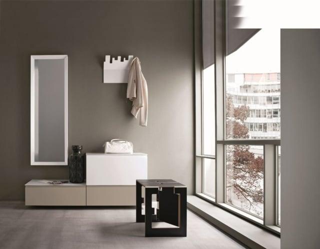 Comfortable Schmale Garderobe Im Flur Spart Platz 26 Designs Von