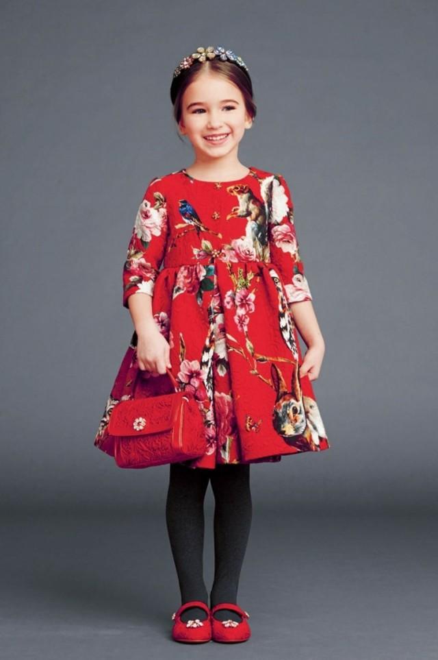 Dolce und Gabbana Kindermode HerbstWinter 201415