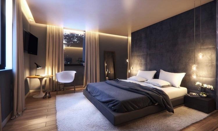 schlafzimmer gestalten ideen - boisholz - Schlafzimmer Modern Gestalten