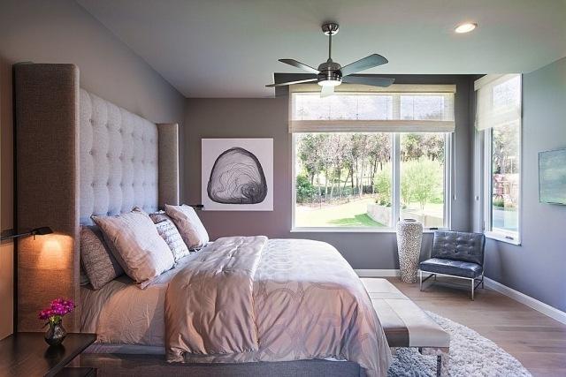 schlafzimmer streichen ideen - terrasseenbois - Schlafzimmer Lila Streichen