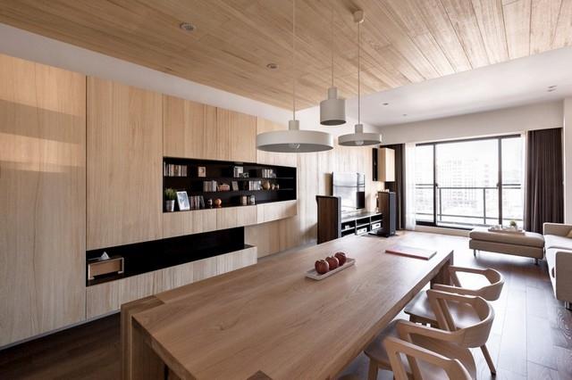 Idee fr Wohnungseinrichtung  Holz fr Naturlook
