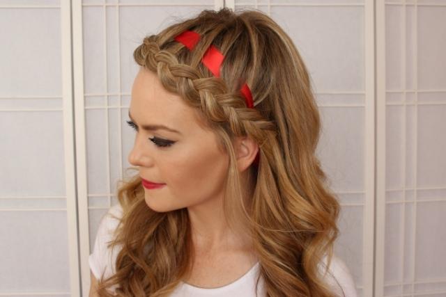 Haarband Frisuren Ideen Für Einen Festlichen & Alltags Haarschmuck