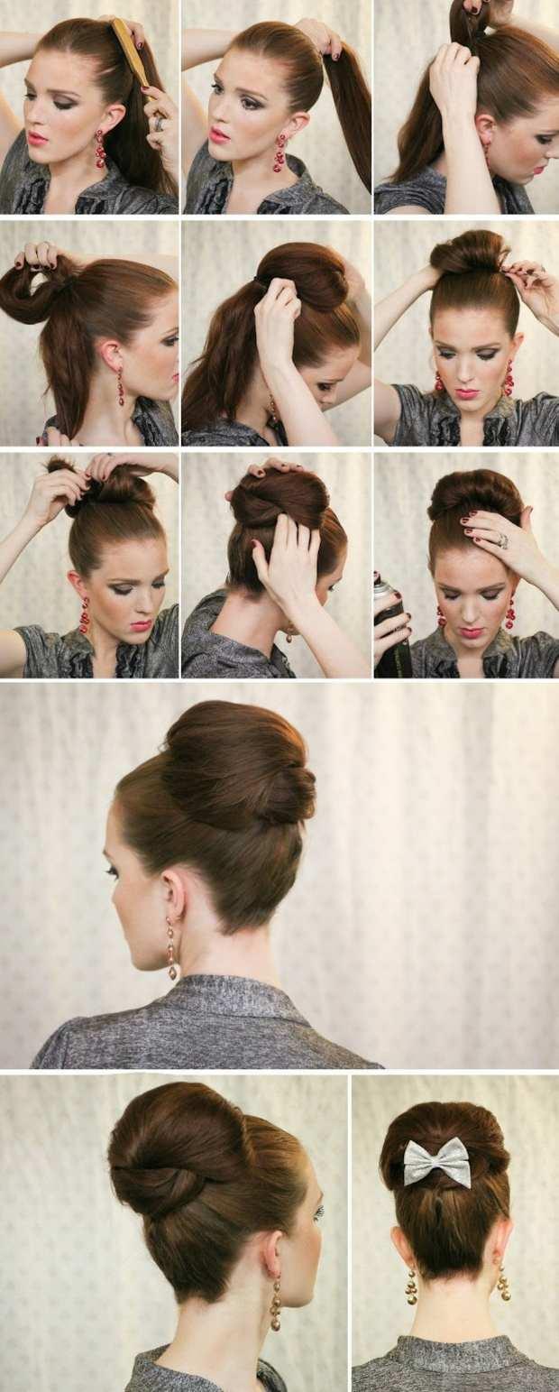 Dutt Frisuren Alltag