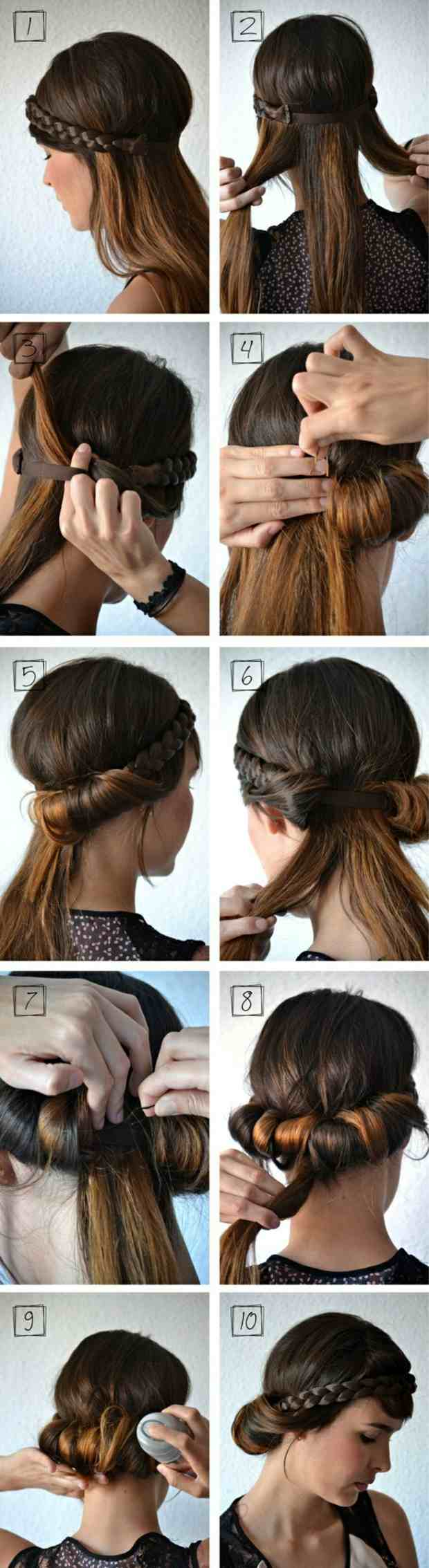 Frisuren Mittellanges Haar Selber Machen Anleitung
