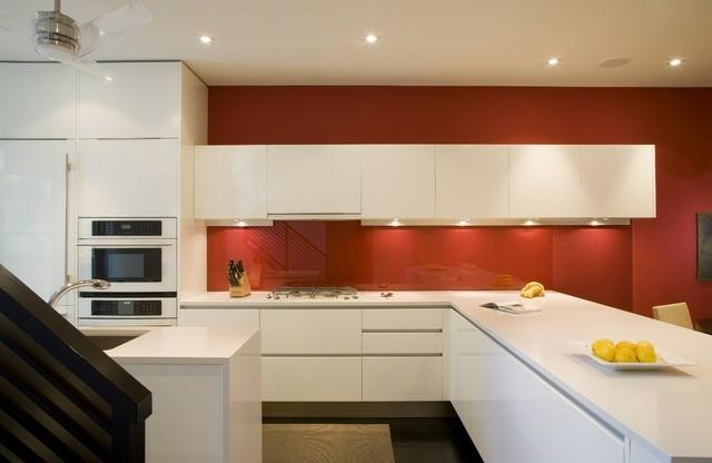 Küchenwand Spritzschutz Farbe | Beste Farbe Für Küche - 55 ...